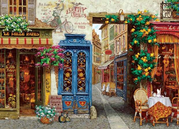 Художник Виктор Швайко. На старых улочках Рима