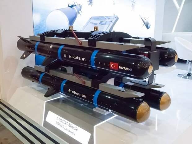 Современные ракеты «воздух-поверхность» турецкой разработки