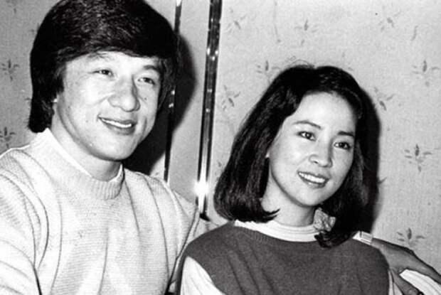 Любимая женщина актера Джеки Чана: почему кумир миллионов 40 лет прятал супругу