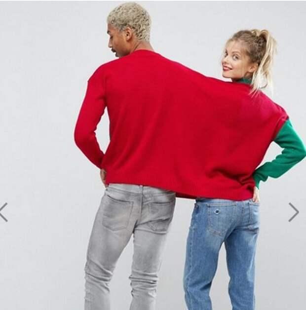 Рождественский свитер для двоих