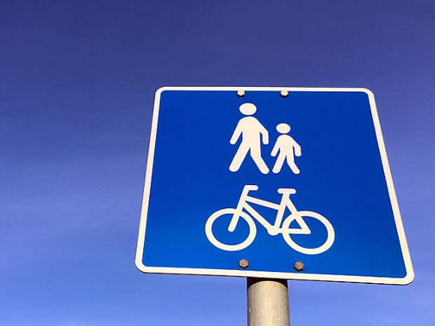 В Москве ищут велосипедиста, скрывшегося после наезда на ребенка