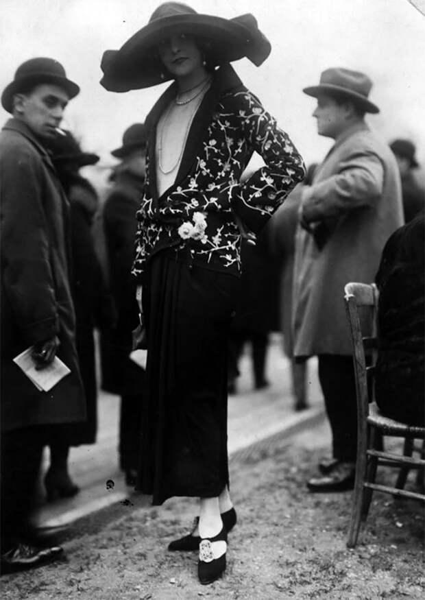 Наряд от Lanvin Стиль, винтаж, двадцатые, женщина, мода, прошлое, улица, фотография