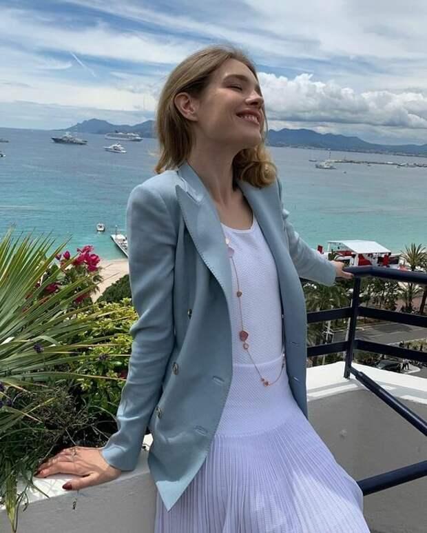 Наталья Водянова: Элегантные образы для хрупкой дамы