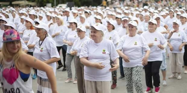 На Копетвском бульваре возобновляются занятия зумбой