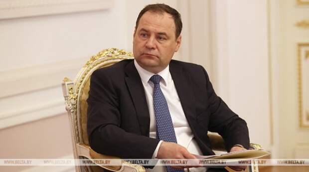 Товарооборот между Беларусью и Таджикистаном за 2020 год вырос почти в 3 раза - Головченко.