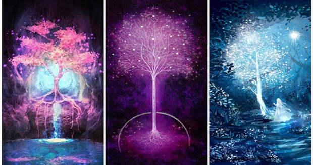 Выберите волшебное дерево и получите свой совет