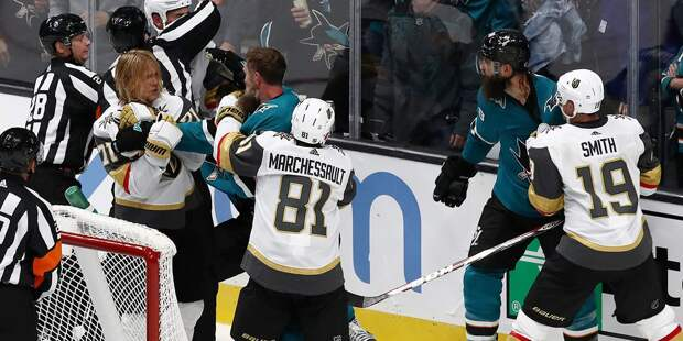 «Вегас» победил «Сан-Хосе» в рамках НХЛ