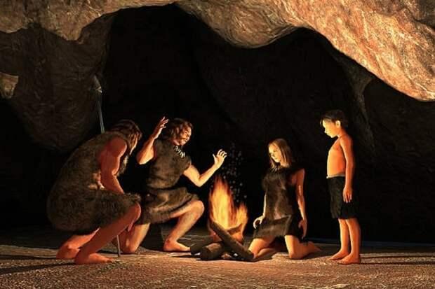 Древние люди в период сильных морозов впадали в зимнюю спячку