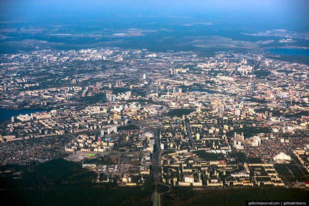 Екатеринбург — самый компактный миллионник России.