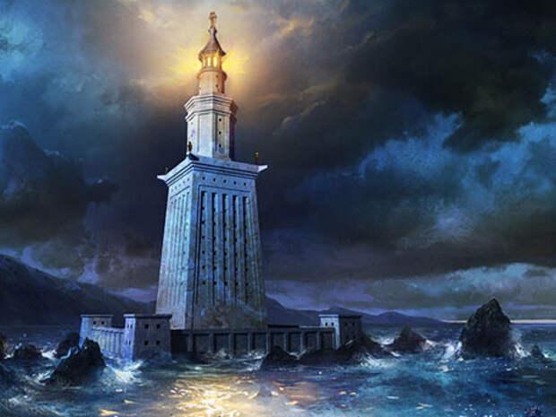 Картинки по запросу александрийский маяк