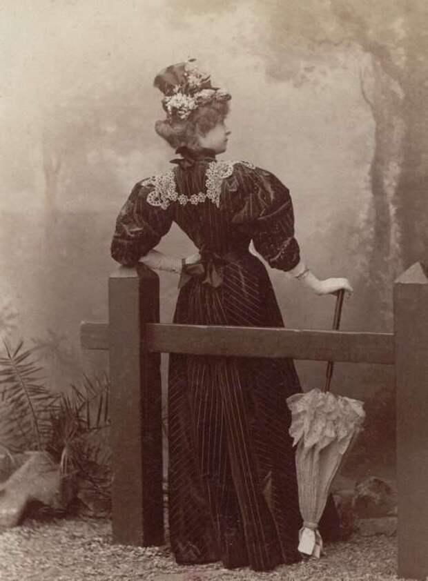 Парижская мода конца 19 века (8 фото)