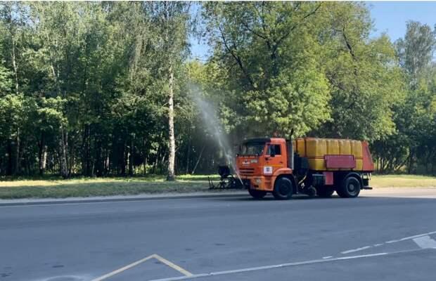 В Некрасовке 13 июля дороги польют четыре раза — управа