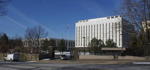 Посольство РФ указало на голословность заявлений Пентагона об эсминце