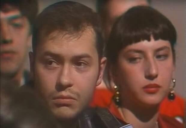 Фёдор Бондарчук и Алика Смехова, 1992 год