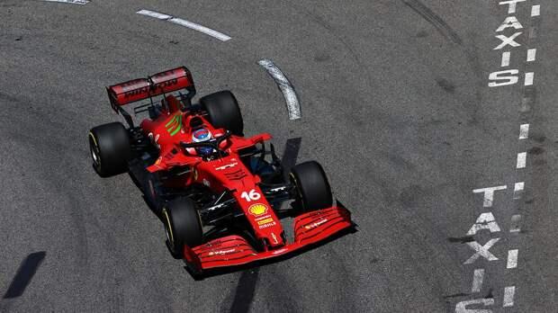 Завоевавший поул на Гран-при Монако Леклер: «Обидно завершать квалификацию, врезаясь в ограждение»