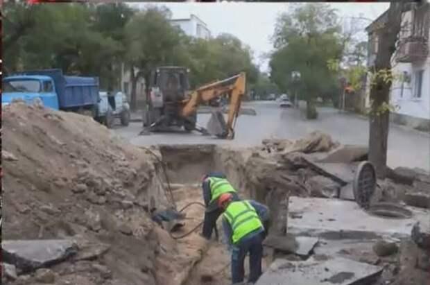 Многоэтажка в Евпатории осталась без отопления из-за порыва труб