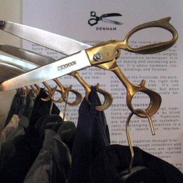 Вешалки - ножницы Denham (подборка)
