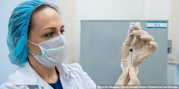 Собянин заявил об открытии записи на вакцинацию от COVID-19 для новых категорий граждан