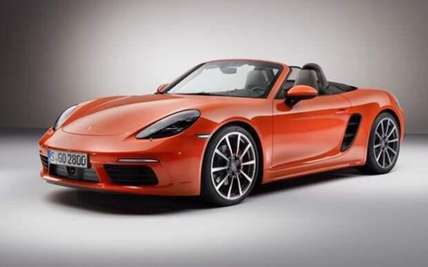 Porsche снизила цену и мощность моделей Cayman и Boxster