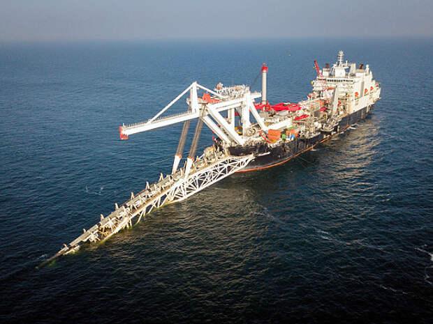 Российское судно вернулось к работам по «Северному потоку-2» в водах Германии