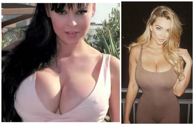G - 7-8-й размер. Анна Азерли (итальянская оперная дива) и модель Линдси Пелас белые, грудь. размер, женщины