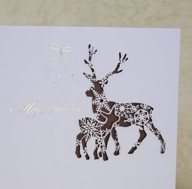 Открытки к Новому году 2020: шаблоны изысканных подарков для гостей и близких (67 фото)