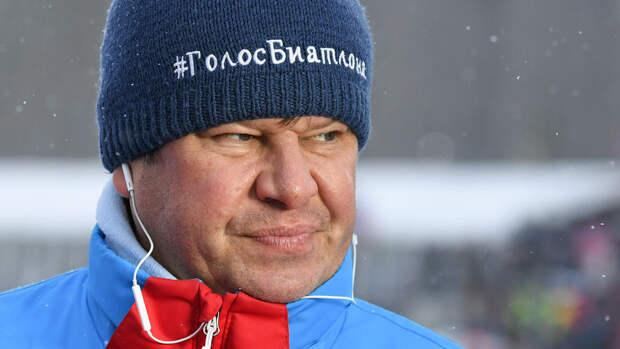 Губерниев прокомментировал состав сборной России по биатлону на сезон-2021/22