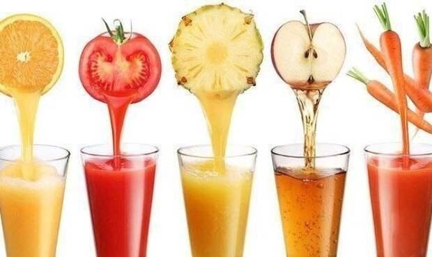 Лучшие оздоровительные соки