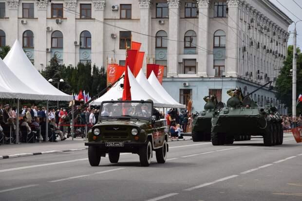 Первая репетиция парада в Симферополе состоится уже в понедельник