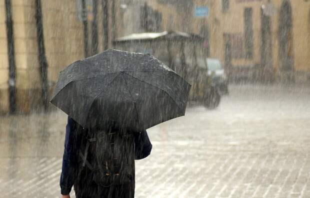 Сильнейший за 73 года ливень обрушится на Москву
