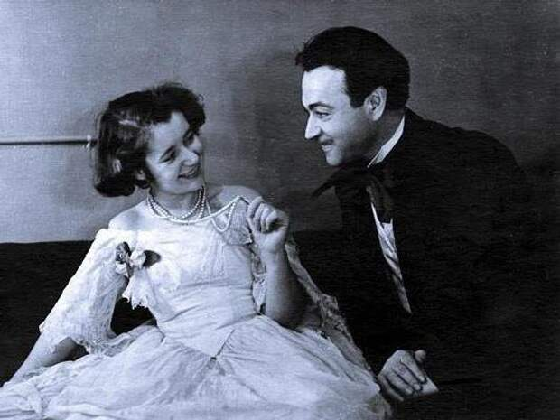 Людмила Макарова и Ефим Копелян
