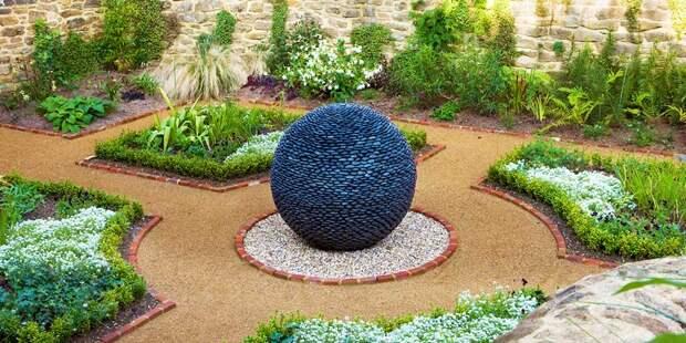 Шикарные идеи украшения сада из камня - садовый арт