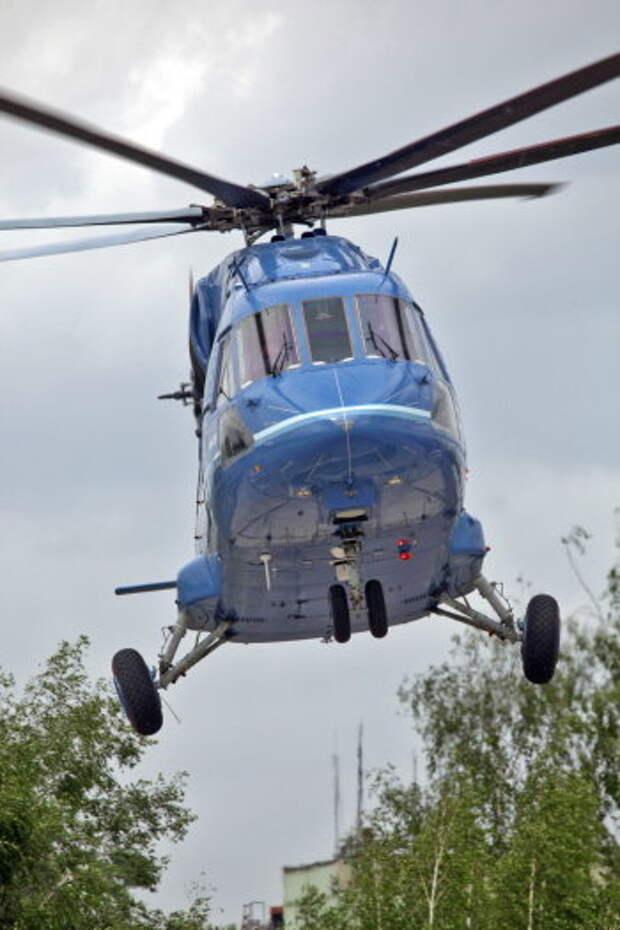 Cпасатели получат вертолеты для Арктики