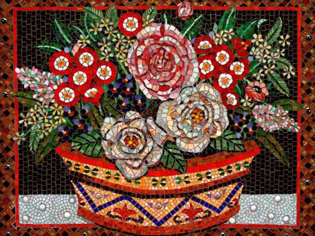 СтройРемПлан. Особенности создания декоративной мозаики