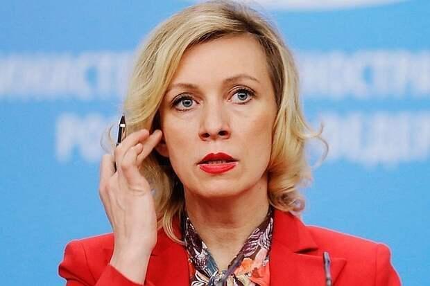 """Захарова ответила на высказывание Лондона о """"вызывающем поведении"""" России"""