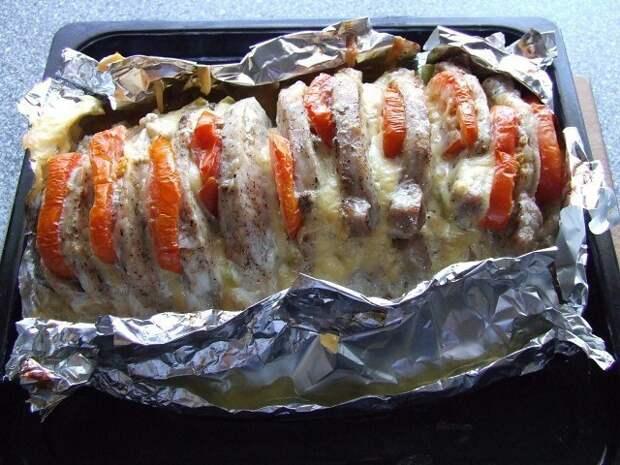 Мясо в гармошках - вкуснятина неописуемая!