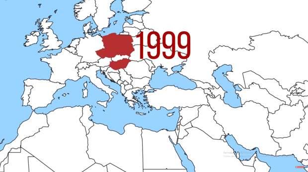 Страны восточной Европы вступившие в НАТО в 1999.