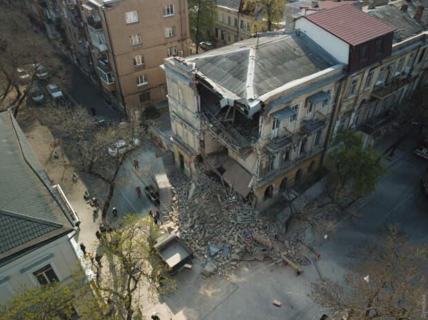 Руинизация Одессы в пенобетонных джунглях