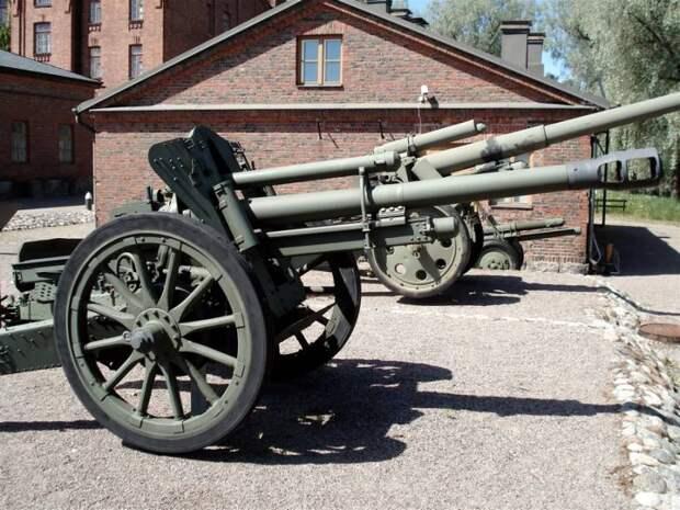 Трофейные немецкие 105-мм гаубицы на службе в РККА