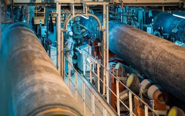 Отмена проекта «Северного потока-2» уничтожит газовую стратегию Германии