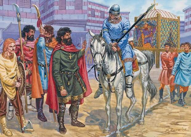 Варяги на службе Константинополя, IX - XII вв.