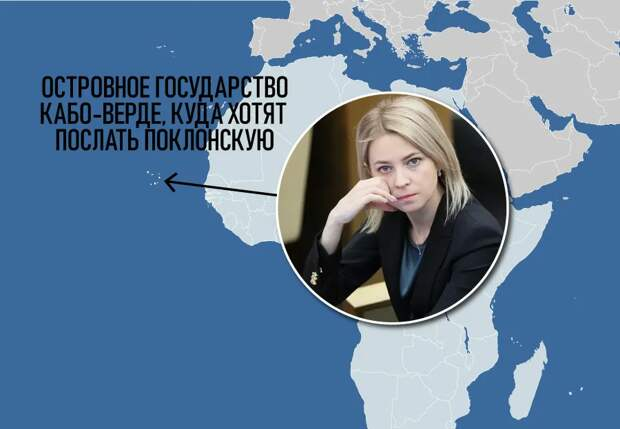 Об ошибке Путина, назначившего Поклонскую послом в Кабо-Верде
