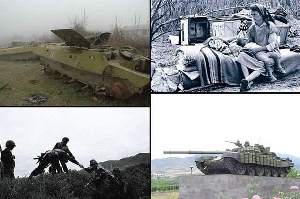 С начала XX века район Нагорного Карабаха дважды становился ареной кровопролитных армяно-азербайджанских столкновений.