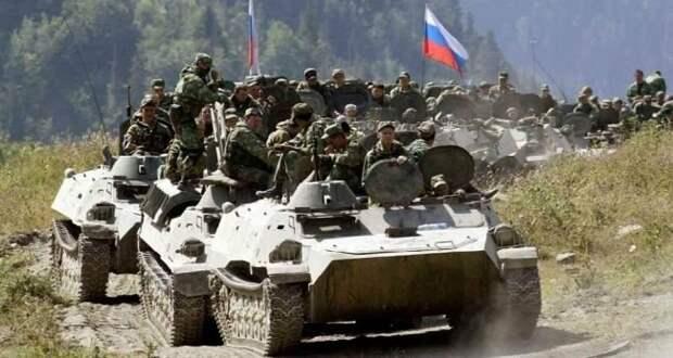 Передвижение Российских войск . Фото из интернета