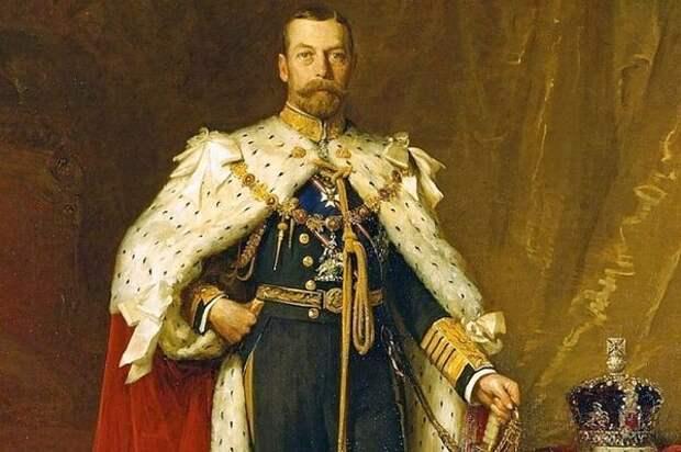 Король Великобритании Георг V. | Фото: s16.stc.all.kpcdn.net.