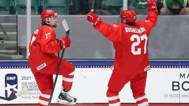 Юниорская сборная России сыграет с Белоруссией в четвертьфинале ЧМ 3 мая: расписание всех матчей