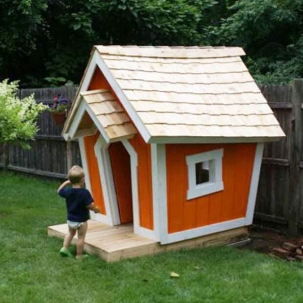 Коллекция идей забавных домиков для детских игр