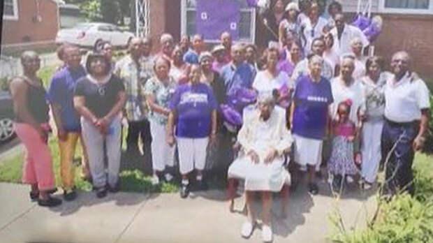 108 правнуков и 120 внуков: старейшая американка умерла в 116 лет