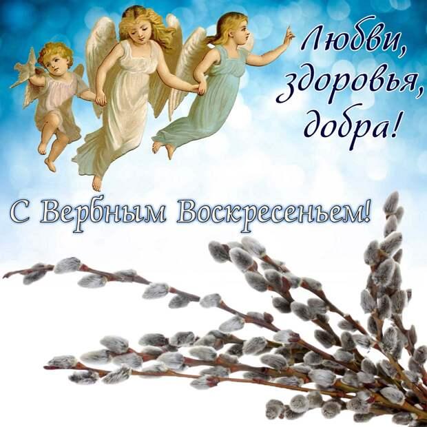 Поздравляю с Вербным Воскресением