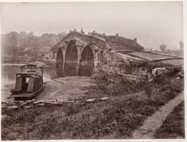 Мост, окрестности Шанхая, 1900 г.